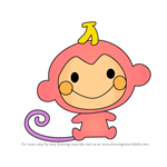 How to Draw Chi Chai Monchan from Hello Kitty