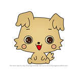 How to Draw Chibimaru from Hello Kitty
