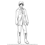 How to Draw Iceland from Hetalia: Axis Powers