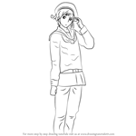 How to Draw Norway from Hetalia: Axis Powers