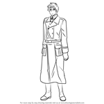 How to Draw Sweden from Hetalia: Axis Powers