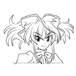 How to Draw Mittelt from High School DxD