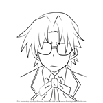 How to Draw Motohama from High School DxD