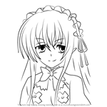How to Draw Ophis from High School DxD