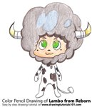 How to Draw Lambo from Reborn!