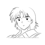 How to Draw Good Suikotsu from Inuyasha