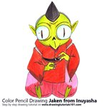How to Draw Jaken from Inuyasha