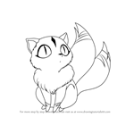How to Draw Kirara from Inuyasha
