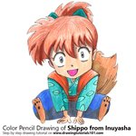 How to Draw Shippo from Inuyasha