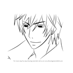 How to Draw Kyo ijuuin from Junjou Romantica