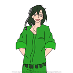 How to Draw Kousuke Seto from Kagerou Project