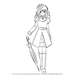 How to Draw Aoi Hyoudou from Kaichou wa Maid-sama!
