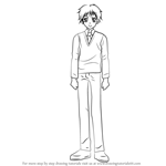 How to Draw Shouichirou Yukimura from Kaichou wa Maid-sama!