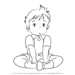 How to Draw Ket from Kiki's Delivery Service