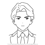 How to Draw Andrew Hanbridge from Little Witch Academia