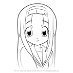 How to Draw Ayano Minegishi from Lucky Star