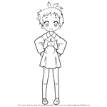 How to Draw Erika Koike from Lucky Star