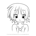How to Draw Inori Hiiragi from Lucky Star