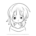 How to Draw Matsuri Hiiragi from Lucky Star