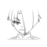How to Draw Tsushima Unou from Medaka Box