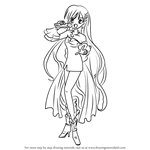 How to Draw Karen from Mermaid Melody