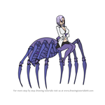 How to Draw Rachnera Arachnera from Monster Musume
