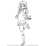 How to Draw Manaka Mukaido from Nagi No Asukara