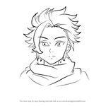 How to Draw Arthur Pendragon from Nanatsu no Taizai