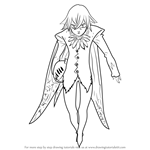 How to Draw Helbram from Nanatsu no Taizai