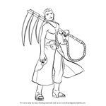 How to Draw Hidan from Naruto