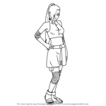 How to Draw Ino Yamanaka from Naruto