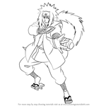 How to Draw Jiraiya from Naruto