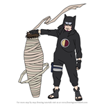 How to Draw Kankuro from Naruto