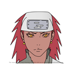 How to Draw Karui from Naruto