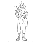 How to Draw Kimimaro from Naruto