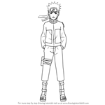 How to Draw Naruto Uzumaki from Naruto