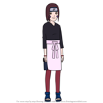 How to Draw Rin Nohara from Naruto