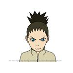 How to Draw Shikadai Nara from Naruto