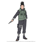 How to Draw Shikamaru Nara from Naruto