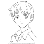 How to Draw Shinji Ikari from Neon Genesis Evangelion