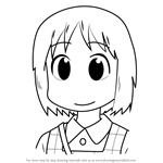 How to Draw Haruna Annaka from Nichijou
