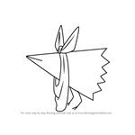 How to Draw Karasu from Nichijou