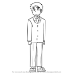 How to Draw Manabu Takasaki from Nichijou