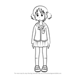 How to Draw Mio Naganohara from Nichijou