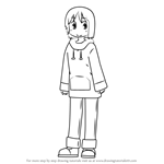 How to Draw Nano Shinonome from Nichijou
