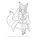 How to Draw Izuna Hatsuse from No Game No Life