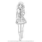 How to Draw Kofuku from Noragami