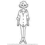 How to Draw Haruka Harukaze from Ojamajo Doremi
