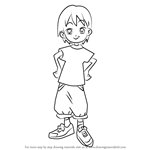 How to Draw Junji Manda from Ojamajo Doremi