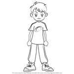 How to Draw Kota Amano from Ojamajo Doremi